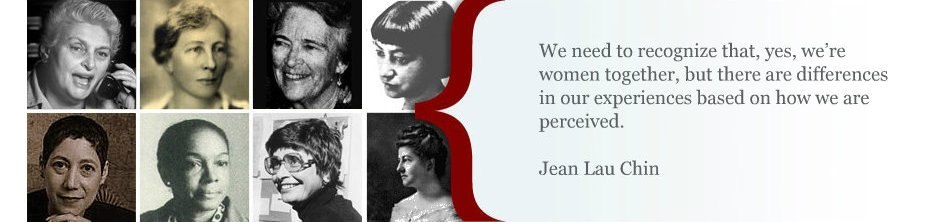 Feminist voices with quote