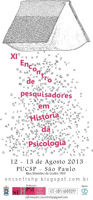 XI Encontro Interinstitucional de HP 2013 PUCSP