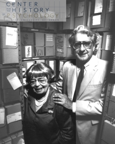 Marion White McPherson and John A. Popplestone in the AHAP Stacks (1992) Photograph by Rick Zaidan
