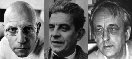 Foucault, Lacan y Althusser