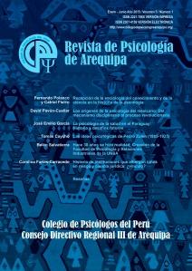 Rev psicol Arequipa 2015 I