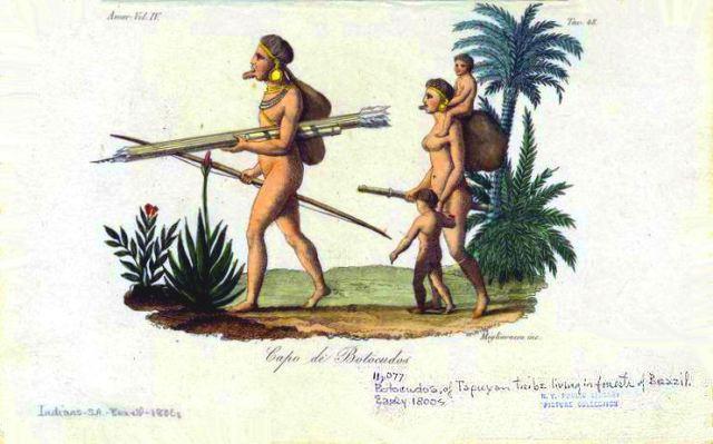 Botocudos-Chief-Brasil